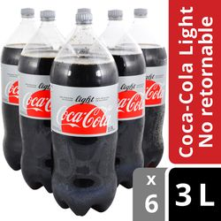 Refresco-COCA-COLA-light-3-L-6-un.