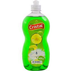 Detergente-liquido-lavavajilla-CRISTAL-concentrado-limon-verde-600-ml