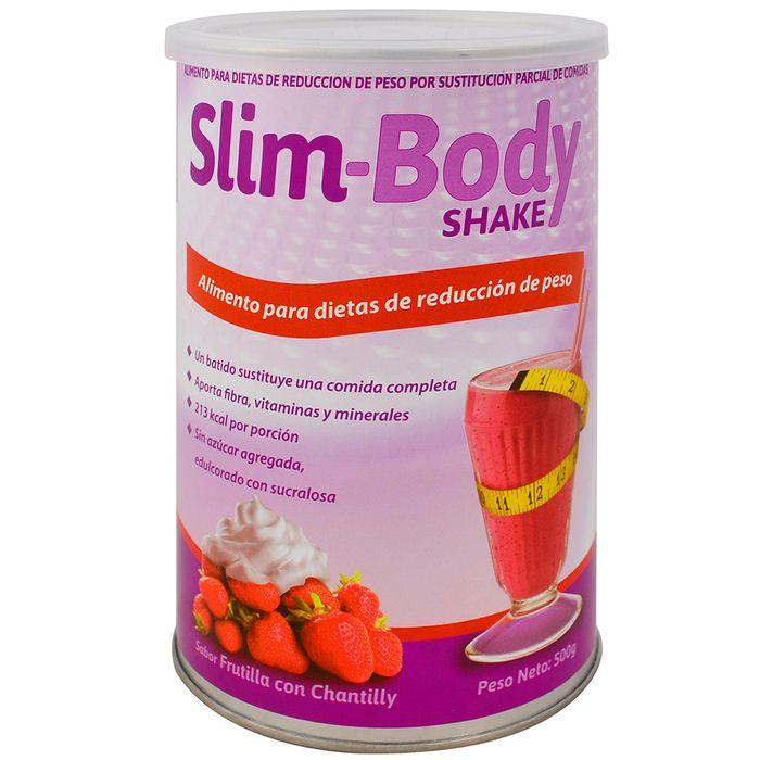 Slim-body-shake-SYLAB-Frutilla-c-chantilly-500g