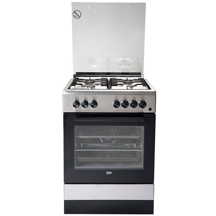 Cocina-BEKO-Inoxidable-Mod.-FSE62110DX