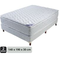 Conjunto-sommier-resortes-Iris-doble-pillow-140-x-190-x-28-cm