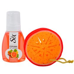 Pack-Six-pomelo-espuma-270-ml---esponja