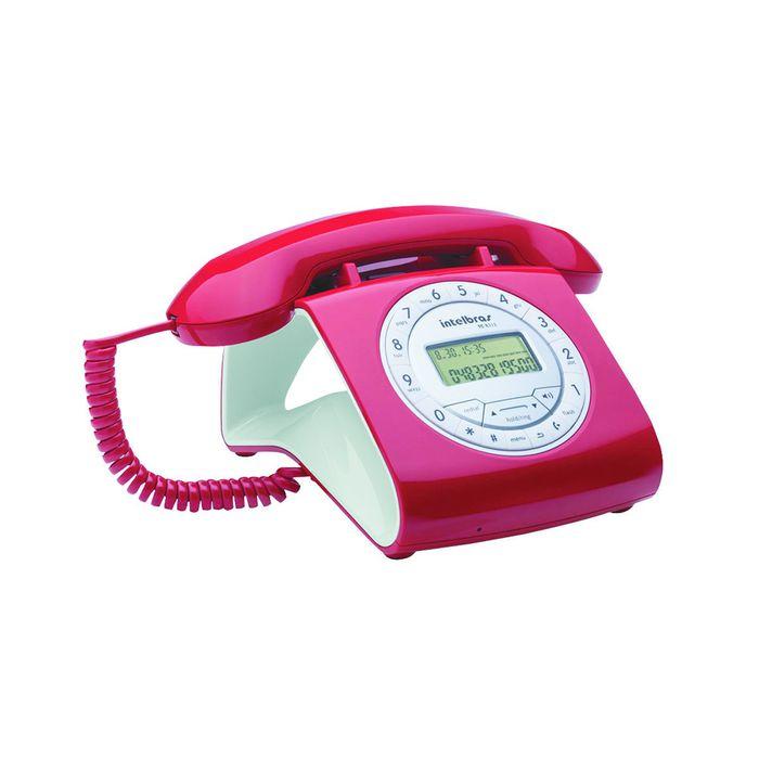 Telefono-INTELBRAS-Mod.-TC8312ID-Rojo