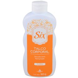 Talco-corporal-Six-Floral-160-g