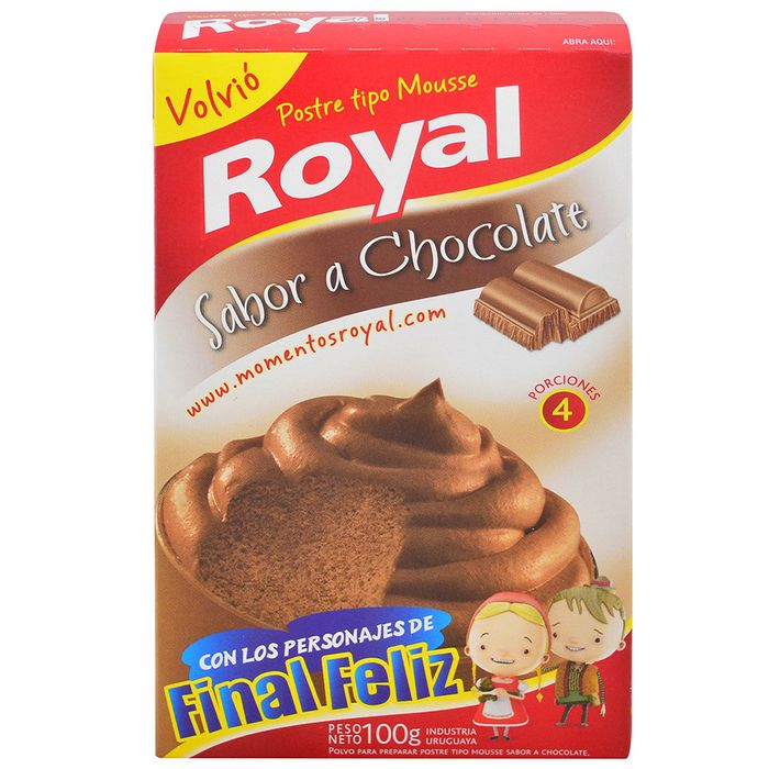 Mousse-chocolate-Royal-100-g