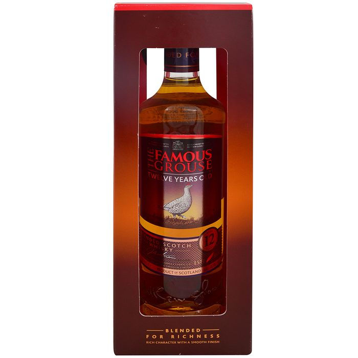Whisky-Escoces-The-Famous-Grouse-12-años