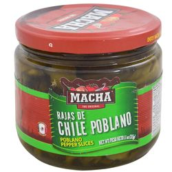 Rajas-de-chile-poblano-Macha-315-g
