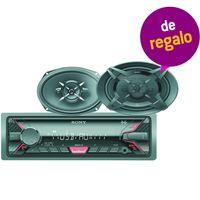 Combo-autorradio-SONY-Mod.-A110U---Parlantes-6X9-Mod.-XS-6930