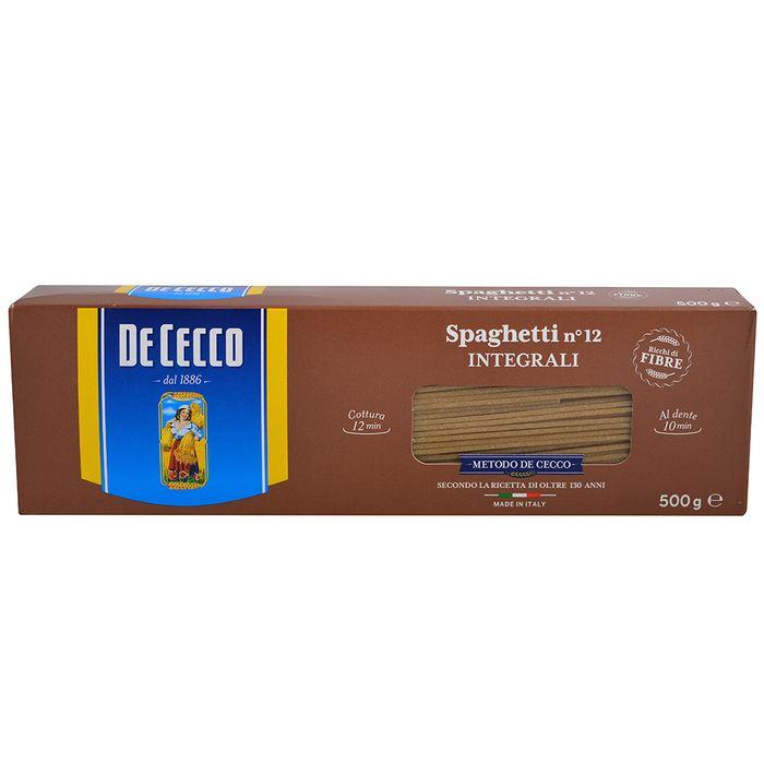 Spaghetti-integral-De-Cecco-500-g