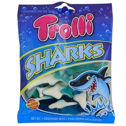 Gomitas-gelatina-Trolli-sharks-100-g