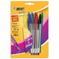Boligrafo-BIC-Cristal-Fashion-10-colores