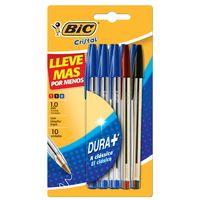 Boligrafo-BIC-Cristal-10-un-colores-surtidos