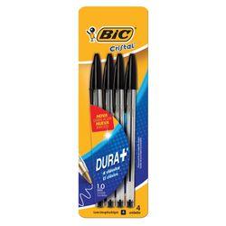 Boligrafo-BIC-Cristal-x-4-negros