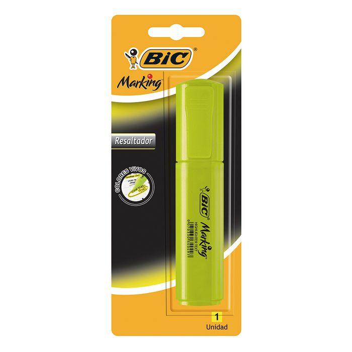 Resaltador-BIC-amarillo