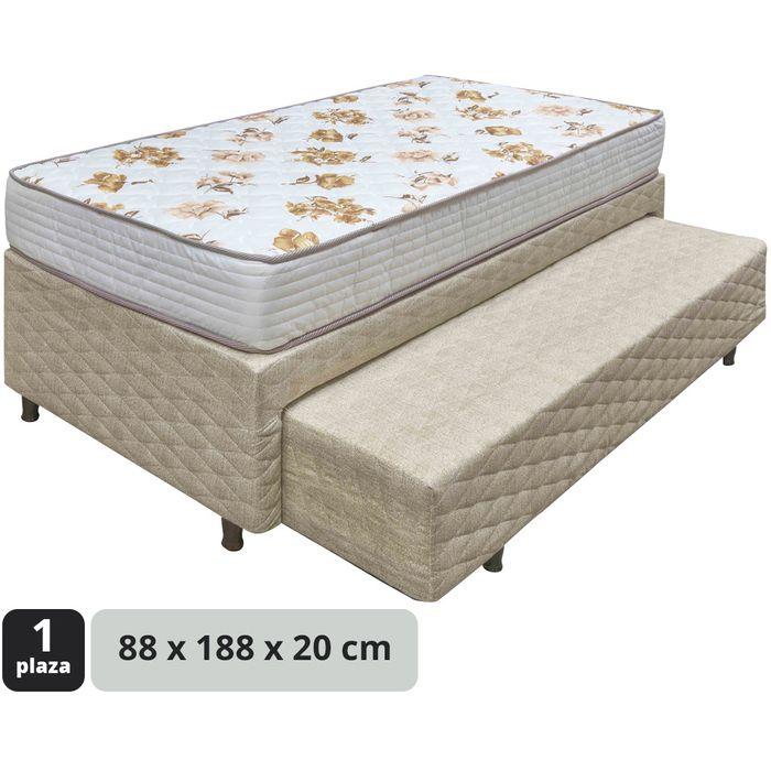 Conjunto-cama-marinera-capitoneado-colchon-de-espuma-88x188x20cm