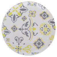 Plato-postre-19cm-ceramica-blanco-con-diseño-verde