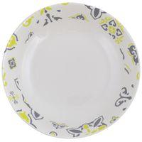 Plato-hondo-20cm-ceramica-blanco-con-diseño-verde