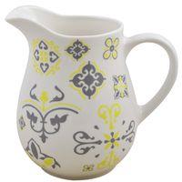 Jarra-17x9cm-ceramica-blanca-con-diseño-verde
