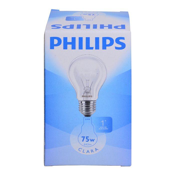 Lampara-clara-PHILIPS-75w-E27