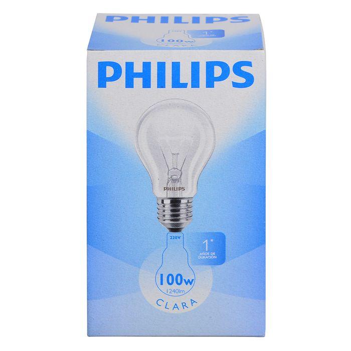Lampara-clara-PHILIPS-100w-E27