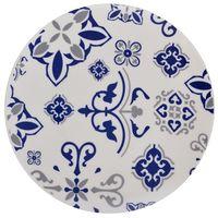 Plato-postre-19cm-ceramica-blanco-con-diseño-azul