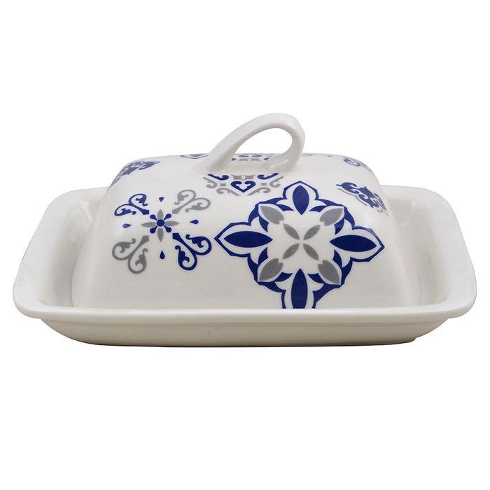 Mantequera-19x14x8cm-ceramica-blanco-con-diseño-azul