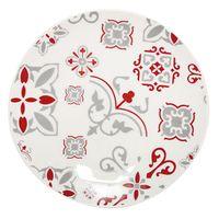 Plato-postre-19cm-ceramica-blanco-con-diseño-rojo