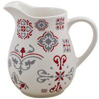 Jarra-17x9cm-ceramica-blanca-con-diseño-rojo