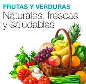 frutas y verduras x4