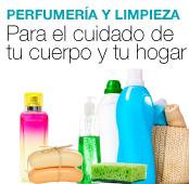 perfumería y limpieza x4