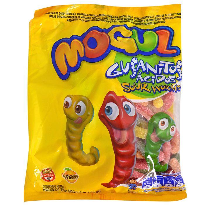 Gomas-Mogul-Arcor-gusanitos-acidos-500-g