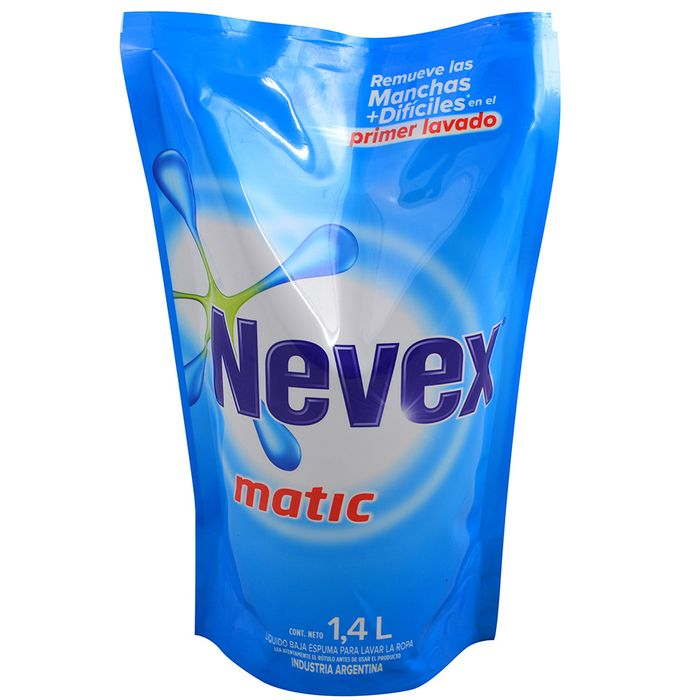 Detergente-liquido-Nevex-matic-14-L