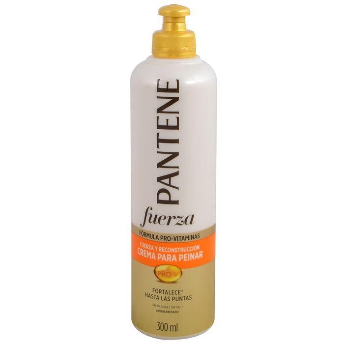 Crema-para-peinar-Pantene-fuerza-y-reconstruccion-300-ml