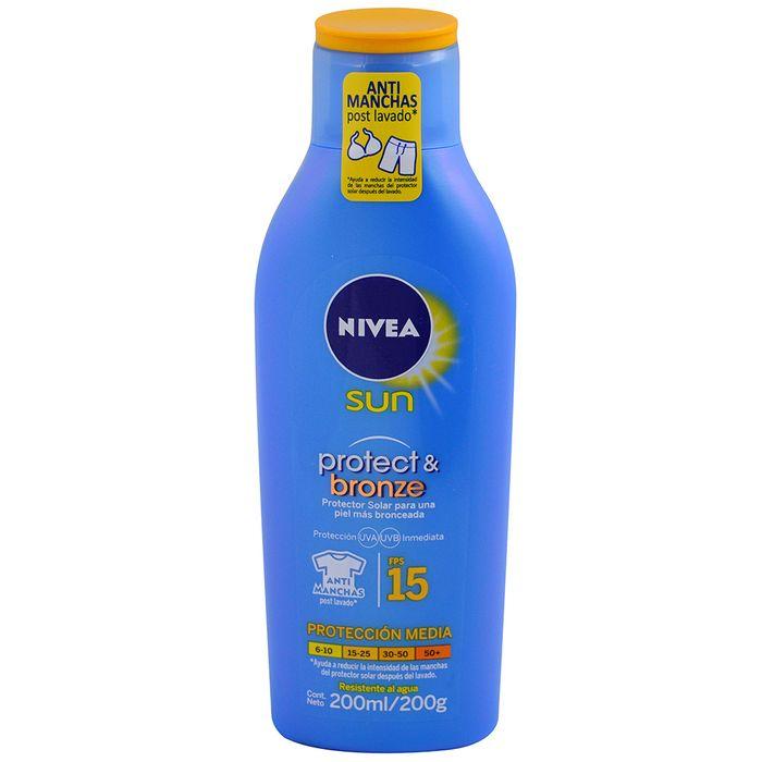 Proteccion-bronze-Nivea-fps-15-200-ml