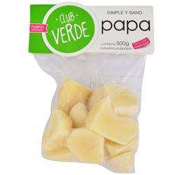 Papa-pelada-Club-Verde-500-g