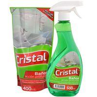 Pack-limpieza-Cristal-baño-500-ml---Cristal
