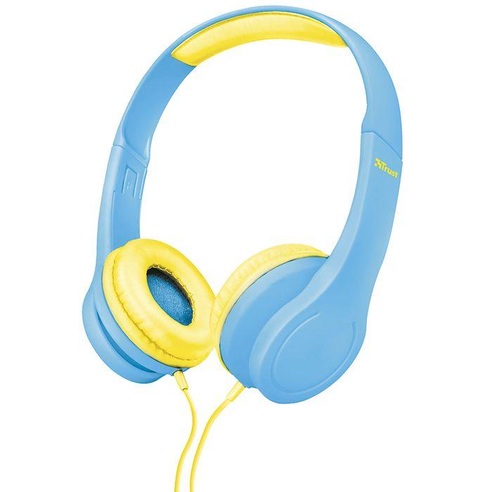 Auricular-Trust-Mod.-bino-kids.-Color-azul-------------