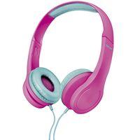 Auricular-Trust-Mod.-bino-kids.-Color-rosa-------------