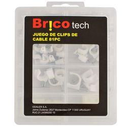 Set-Bricotech-clip-para-cable-81-piezas