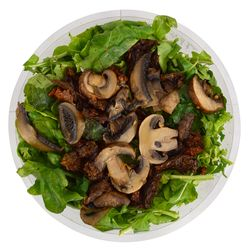 Ensalada-rucula-y-champignon-en-bandeja