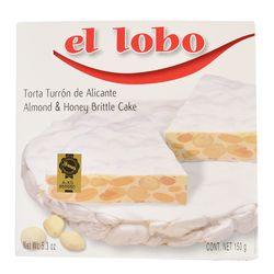 Torta-turron-alicante-El-Lobo-150-g