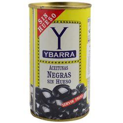 Aceitunas-sin-carozo-negras-Ybarra-150-g
