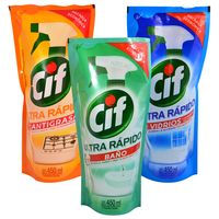 Pack-Cif-Antigrasa---Baño---Vidrio-450-ml