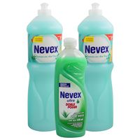 Pack-2-un.-Nevex-lavavajilla-aloe-vera-1250-ml---ultra-500-ml