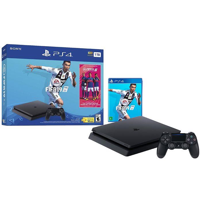 Consola Sony Ps4 Slim 1tb Fifa 2019 Geant