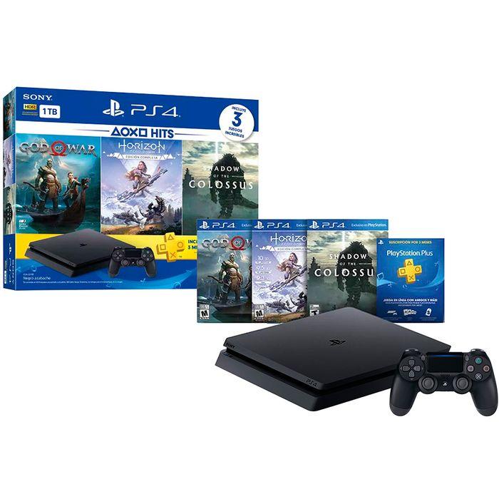 Consola-PS4-hit-4-1tb---3-juegos
