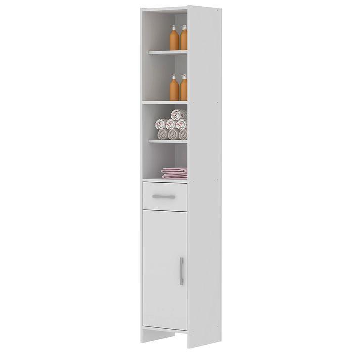 Armario-de-baño-blanco-1-puerta-y-cajon