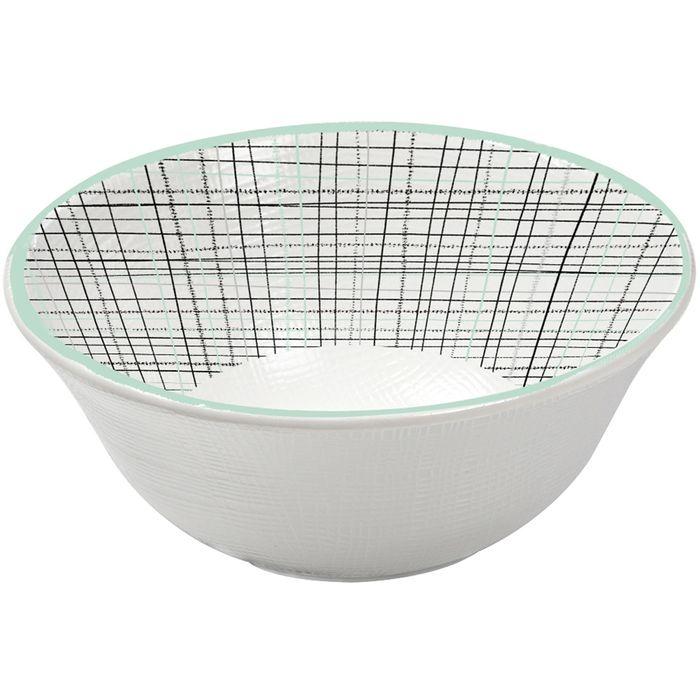 Bowl-15.6cm-melamina-rayas