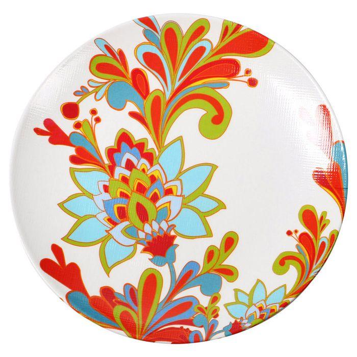 Plato-llano-26.7cm-flores-tropical