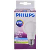 Lampara-PHILIPS-led-bulb-6-50w-E27